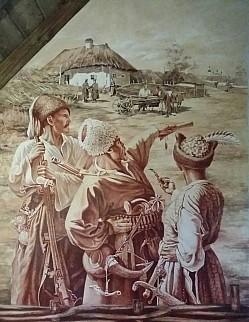 Анна Маркова - Тарас Бульба с сыновьями