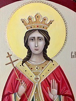 Фрагмент иконы Святой Великомученицы Варвары