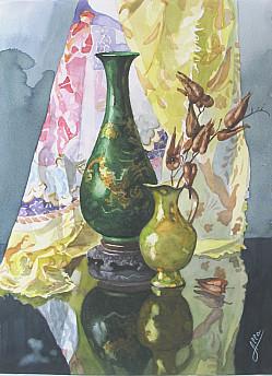 Китайская ваза..