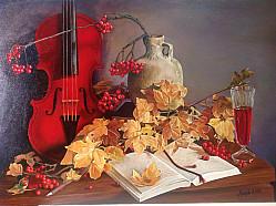 Осенняя мелодия для скрипки