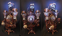 Бортовой телефундер личного Его Императорского Высочества Принца Кирну четырех Золотых Знамен именного бомбовоза Горный Орел.